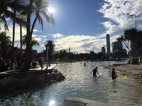 Brisbane Sehenswürdigkeiten: Lagune in der Innenstadt