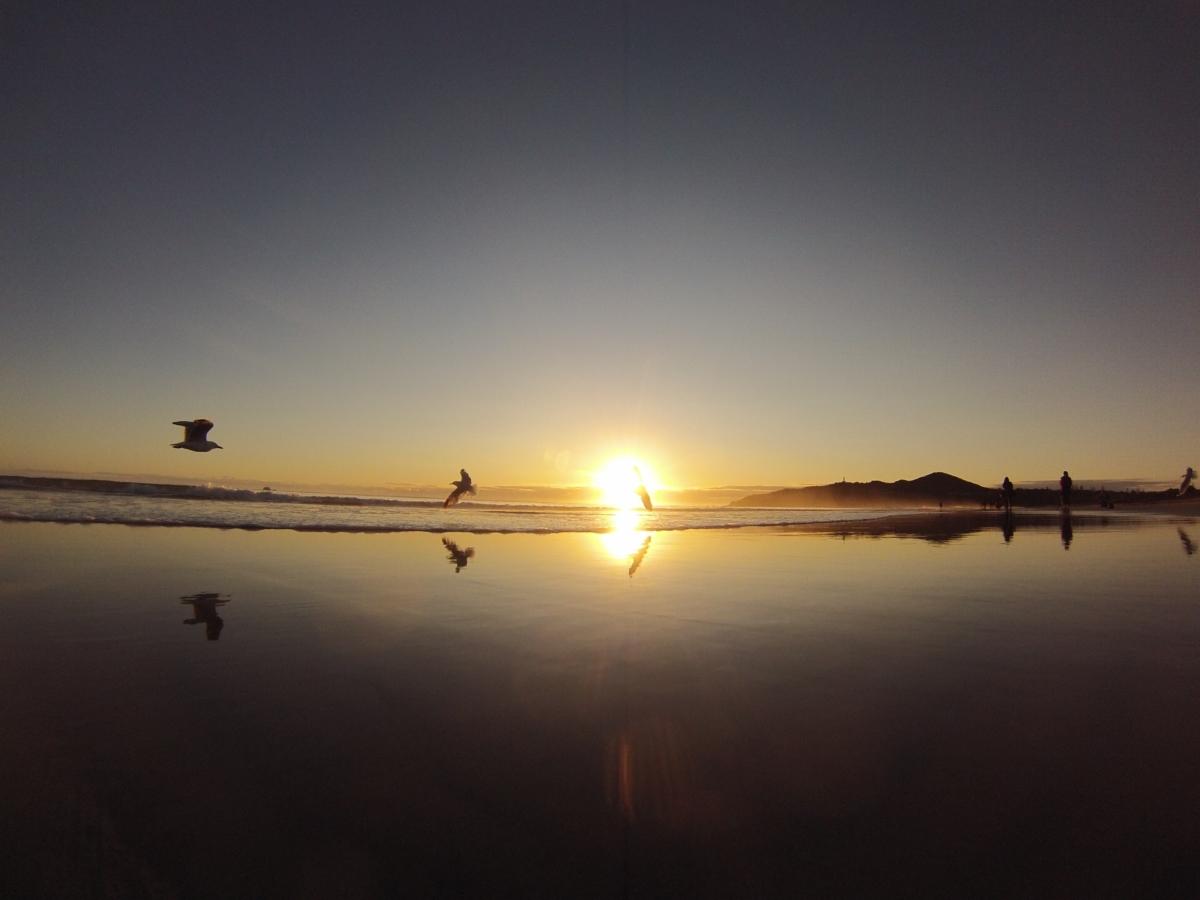 Byron Bay Sonnenaufgang