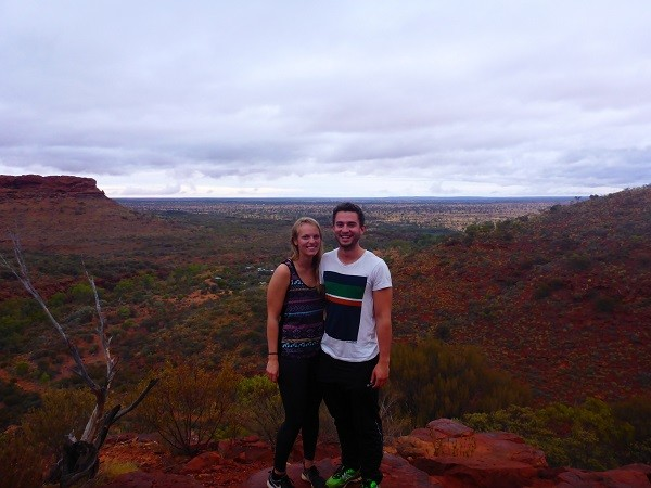 Kings Canyon - Outback Australien