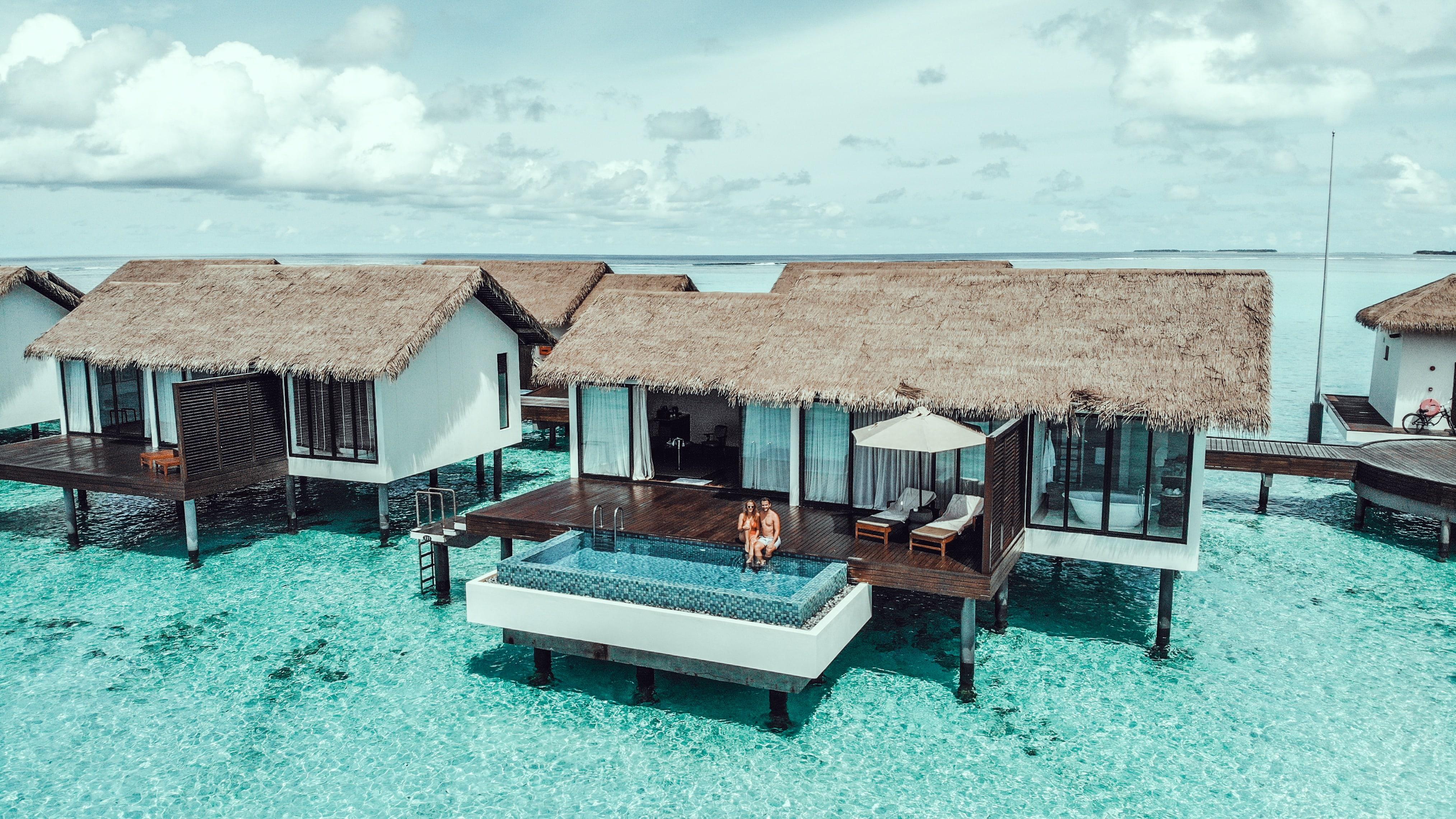 Water Pool Villa Malediven