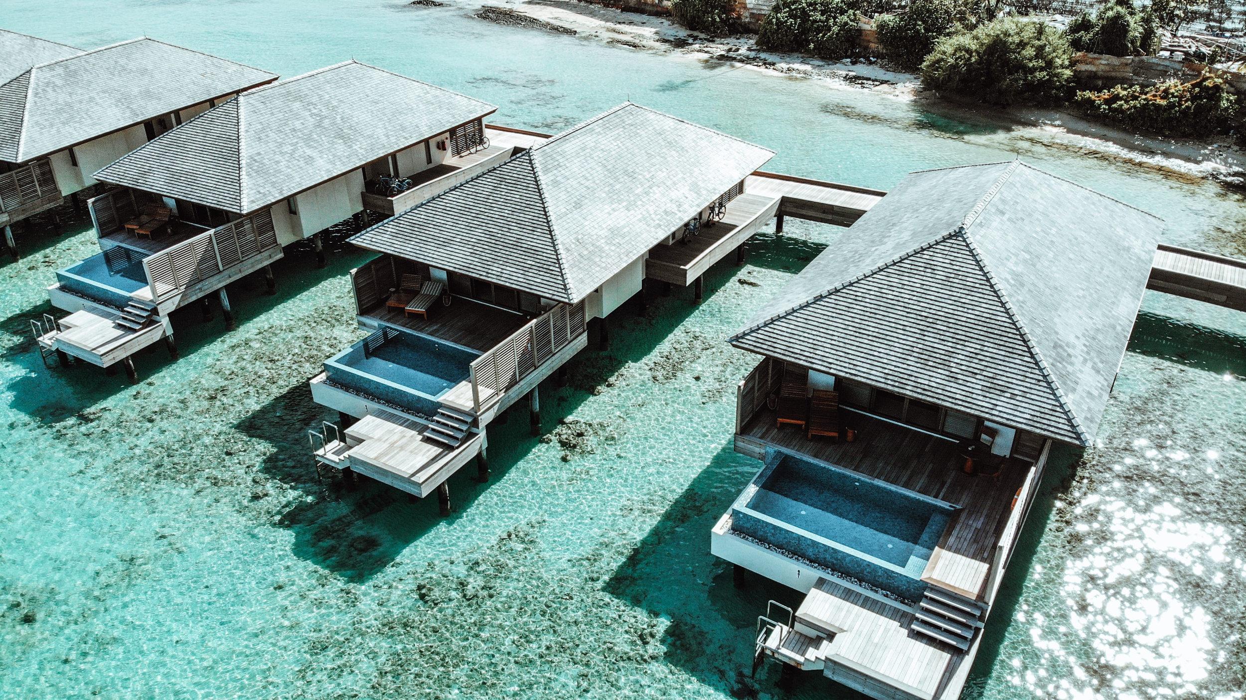Wasserpool Villa The Residence Maldives Dhigurah