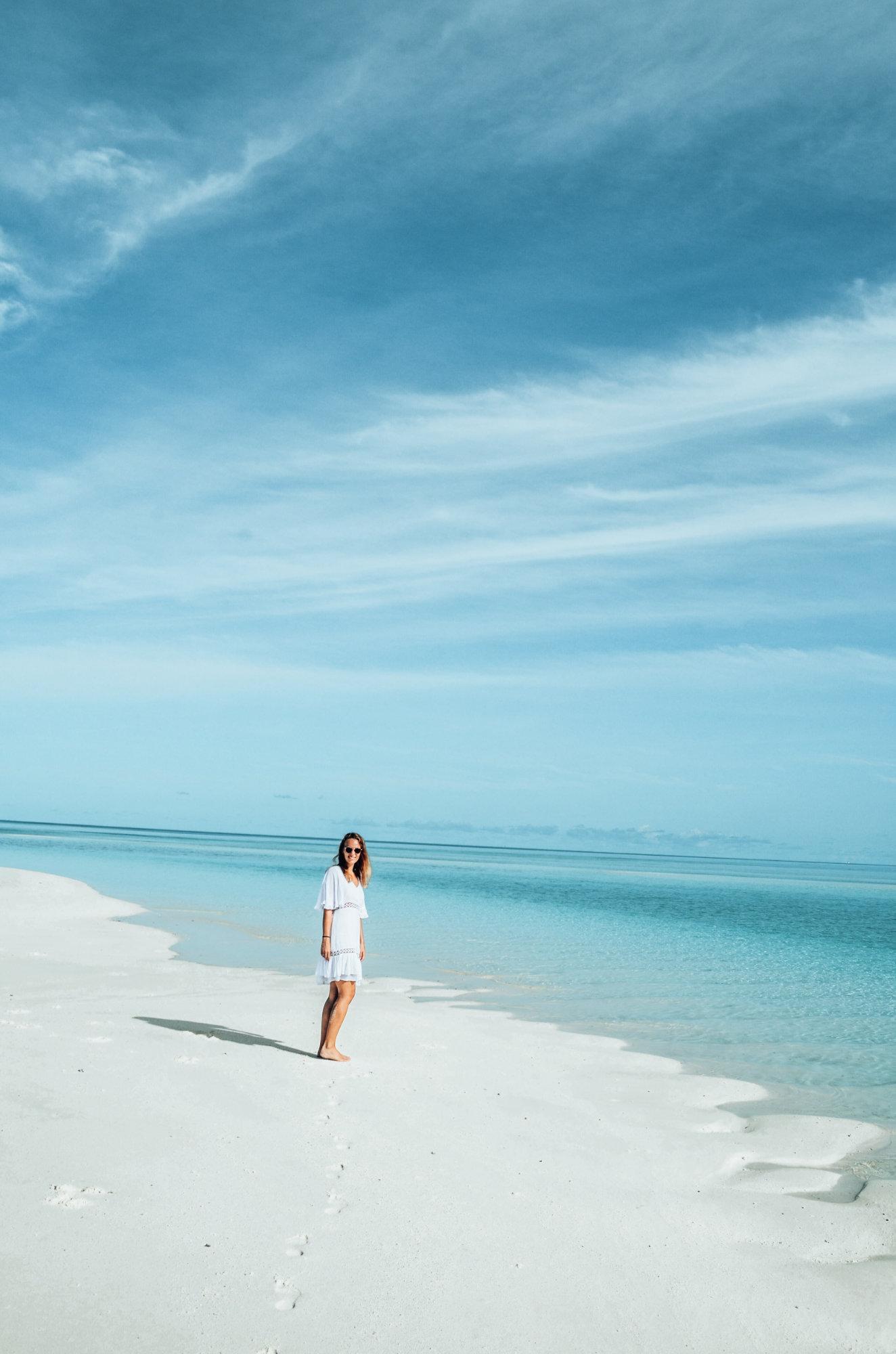 Sandbank Malediven